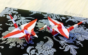 Picture beauty, origami, cranes