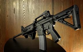 Wallpaper weapons, machine, S&W M-4
