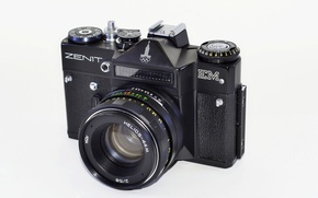 Picture camera, Zenit, the camera, lens, Zenit EM