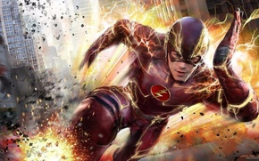Picture Flash, Flash, The Flash