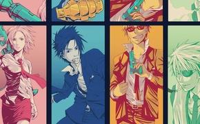 Picture gun, pomegranate, cigarette, naruto, Naruto, rocket launcher, sasuke uchiha, naruto Uzumaki, sakura haruno, kakashi hatake