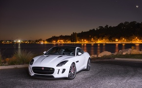 Picture Jaguar, Coupe, Night, F-Type