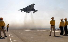 Picture the sky, the plane, the carrier, the rise, Harrier, Harrier