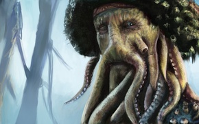 Picture pirates of the Caribbean, Davy Jones