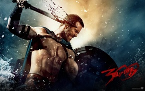 Picture blood, sword, 300 Spartans: rise of an Empire, 300: rise of an empire, Sullivan Stapleton, …