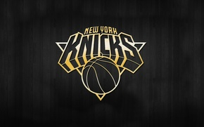 Picture Basketball, Background, Logo, Gold, NBA, Knicks