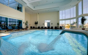 Picture design, style, interior, pool, the room
