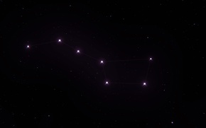 Picture The Big Dipper, Constellation, The Big Dipper, Big Dipper