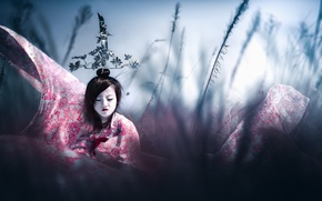 Picture style, girl, Asian