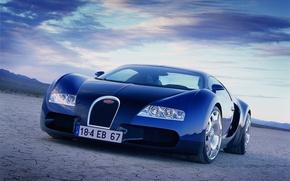 Picture machine, Bugatti, car, Veyron EB