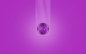 Picture strip, emblem, the volume, rhombus