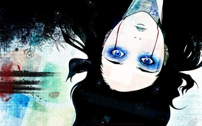 Picture blood, blue eyes, ergo proxy