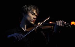 Picture violin, music, Alexander Rybak