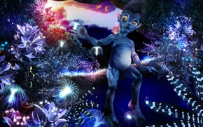 Picture childhood, movies, small, avatar, From Pandora with love 2
