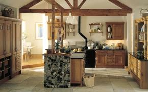 Picture design, space, style, room, interior, kitchen