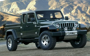 Picture Concept, jeep, the concept, Gladiator, Gladiator, Jeep
