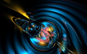 Picture abstract, rendering, anima