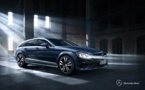 Picture Mercedes-Benz, Mercedes, CLS-Class, Twilight