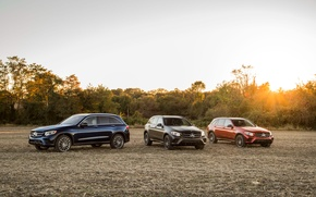 Picture field, Mercedes-Benz, three, GLC 300, 4MATIC AMG