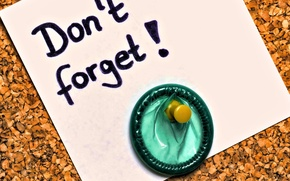 Picture Note, Button, Don't forget