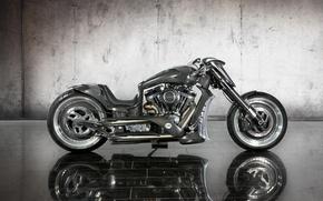 Picture grey, motorcycle, bike, carbon, 2011, custom, Bike, mirror tile, Mansory Zapico Custom Bike