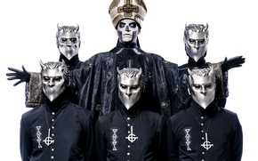 Picture Ghost, band, heavy metal, swedish, Nameless Ghouls, Papa Emeritus III, doom metal