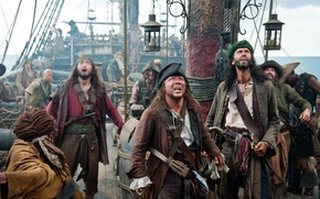 Picture Pirates of the Caribbean, the ship, pirates of the caribbean, views, amazement