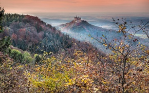 Picture landscape, nature, Hohenzollern Castle