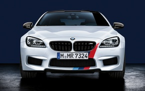 Picture BMW, white, front, Performance, F12, F06, F13