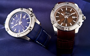 Picture design, two, Watch, stone, leather jack