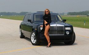 Picture Phantom, Airport, Rolse Royce
