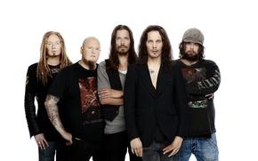 Picture group, rock, HIM, Ville Valo, Finland, Mika Karppinen, Mikko Paananen, Mikko Lindström, Janne Puurtinen
