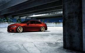 Picture BMW, Orange, Car, Sport, Wheels, F82, VELOS
