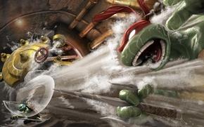 Picture tmnt, turtles, turtles, smash up, mutant ninja turtles