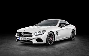 Picture Mercedes-Benz, Auto, White, Machine, Car, SL 63, 2015, Mercedes-AMG