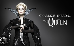 Wallpaper Charlize Theron, evil, Snow White and the Huntsman, Snow white and the huntsman, Queen, Charlize ...