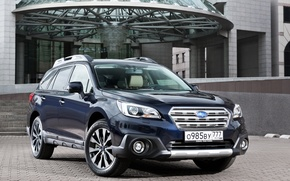 Wallpaper Subaru, 2015, Outback, Subaru, the Outback