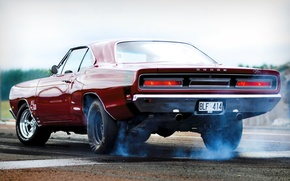 Wallpaper charger, dodge