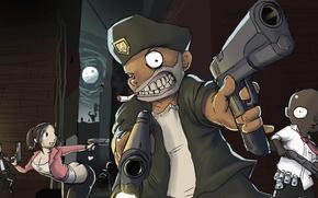 Picture the game, zombies, survival, valve, left 4 dead, source, left for dead, left fo dead