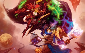 Wallpaper battle, The Burning Crusade, World of Warcraft