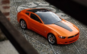 Wallpaper 149, giugiaro concept, mustang, Mustang, pavers, Ford