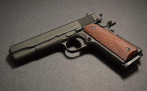 Picture gun, pistol, weapon, grey, ATI, 1911, American Tatical, ATI FX Military 1911, militari