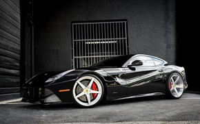 Picture Ferrari, Berlinetta, F12, lowered, staggered, 21″ and 22″