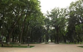 Picture summer, Park, Kaluga