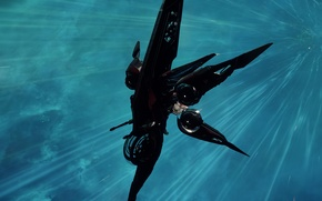 Picture Star Citizen, starship, moving, space, Khartu-Al