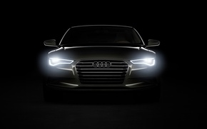 Wallpaper A-7, The concept, Audi