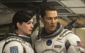 "Picture fiction, Anne Hathaway, Matthew McConaughey, Interstellar, ""Interstellar"""