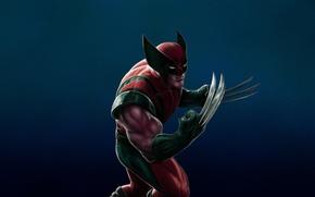 Picture anger, Wolverine, Logan, x-men, Wolverine, Marvel, x-men, Comics, steel claws