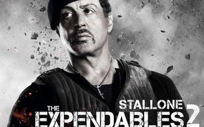 Picture Soldiers, Sly, Sylvester Stallone, The expendables 2, Expendables 2