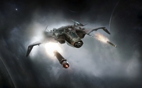 Picture Gladiator, Star Citizen, space ship